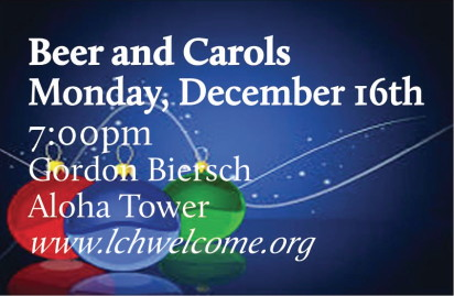 Beer and Carols graphic