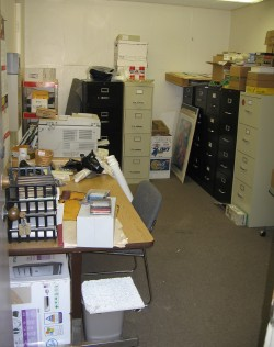 The Counting Room before refurbishing