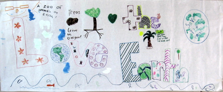 Poster created by the children of LCH.